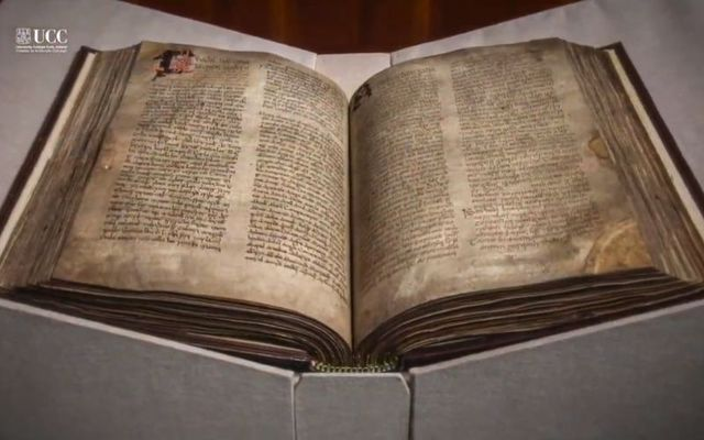 The Book of Lismore in the possession of UCC.