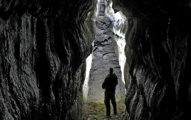 Oweynagat Interior, Rathcroghan, Co Roscommon
