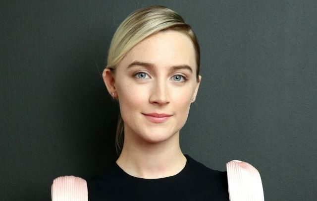 Irish actress Saoirse Ronan.