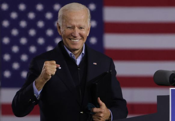 Joe Biden is the favorite to win Tuesday\'s presidential election.