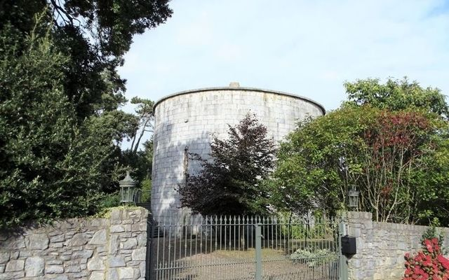 This Martello Tower near Cobh is a dream home.