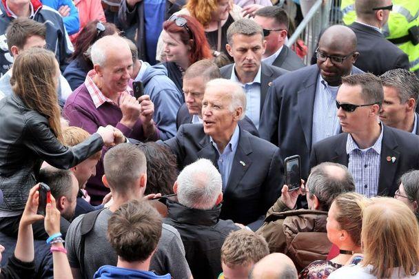 June 25, 2016: Joe Biden in Carlingford, Co Louth.