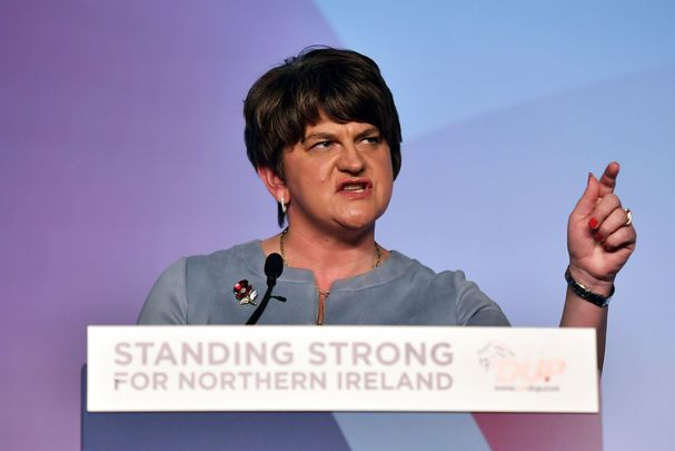 Northern Ireland's First Minister Arlene Foster