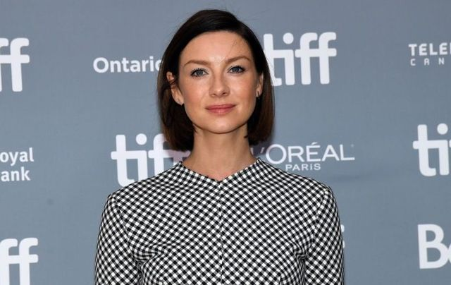 Outlander star and Biden supporter, Caitriona Balfe.