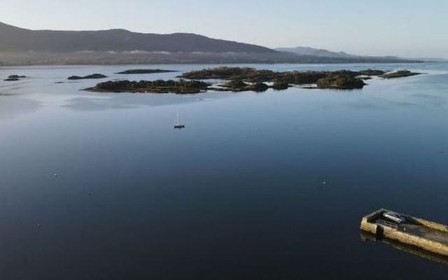 The Greenane Islands in Kenmare Harbor enjoy absolutely spectacular views.