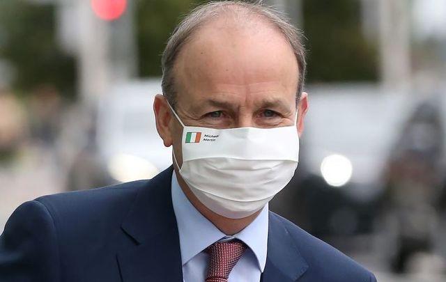 Ireland\'s Taoiseach  Micheál Martin.