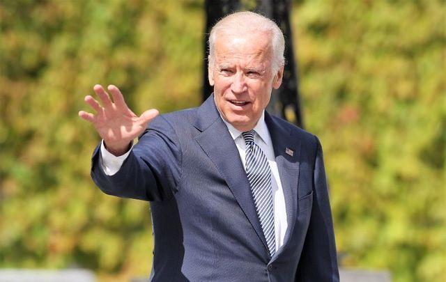 June 22, 2016: Then-Vice President Joe Biden visits Aras an Uachtarain in Dublin.