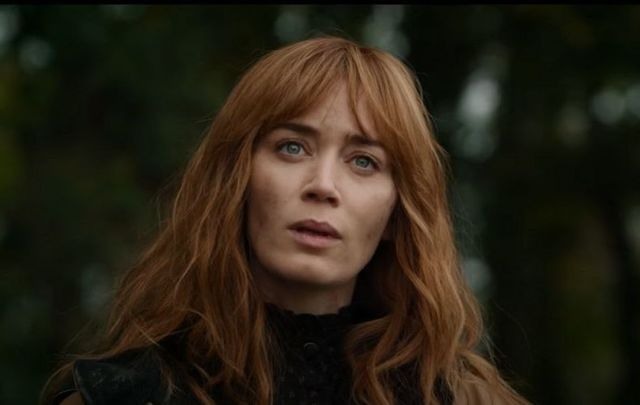 """Emily Blunt as Rosemary Muldoon in \""""Wild Mountain Thyme.\"""""""