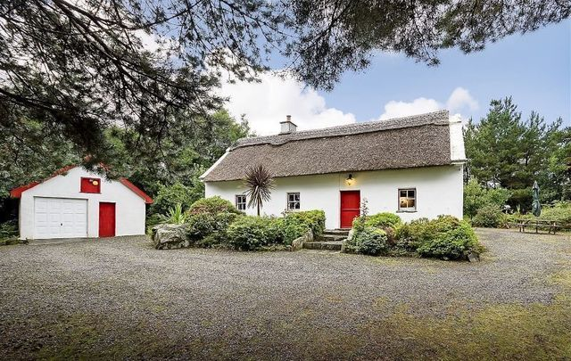 Cuing More, a traditional thatched cottage in Co Mayo, could be yours.