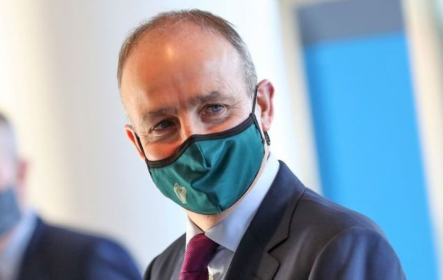 Taoiseach Micheál Martin announced Level 5 restrictions for all of Ireland at the end of October.