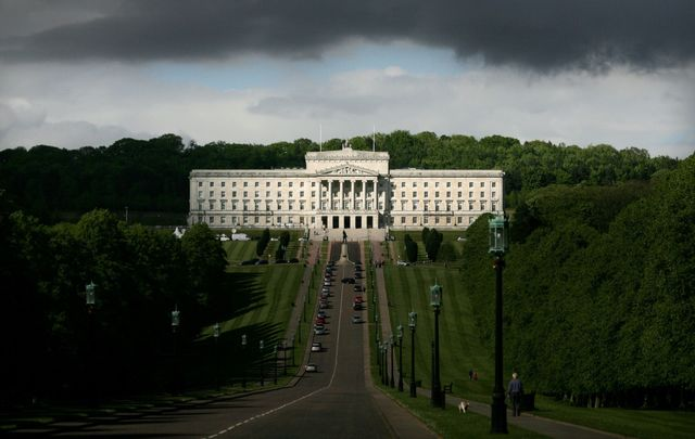 Stormont, the home to Parliament Buildings in Northern Ireland.
