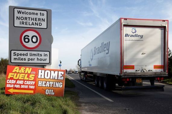 """Peter Fitzpatrick claimed that an \""""unreal\"""" number of northern cars had crossed the border recently."""