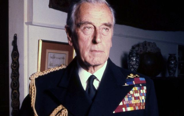 Admiral of the Fleet Louis Francis Albert Victor Nicholas Mountbatten, 1st Earl Mountbatten of Burma.