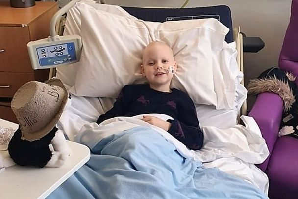 7-year-old Mollie Keoghan was diagnosed with Acute Lymphoblastic Leukaemia in July.