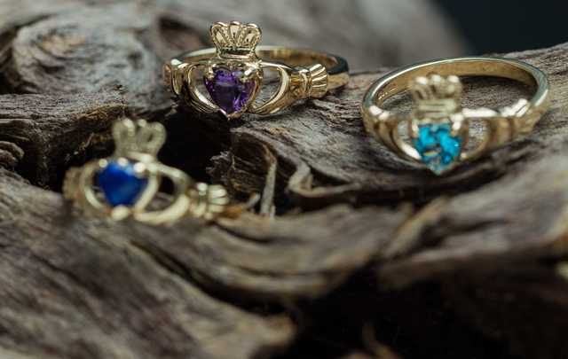 Claddagh Jewellers\' natural birthstone collection.