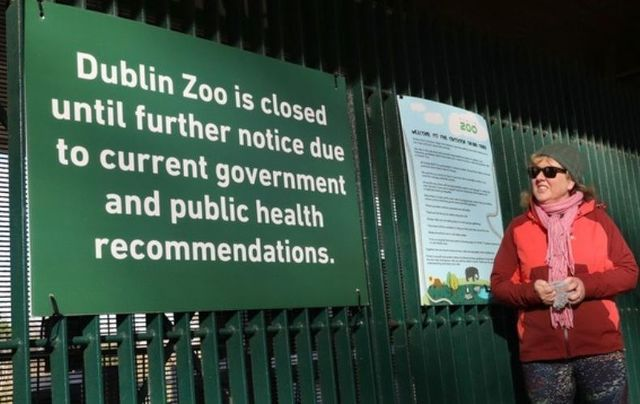 Dublin Zoo has been closed for most of the last eight months due to the COVID-19 pandemic.