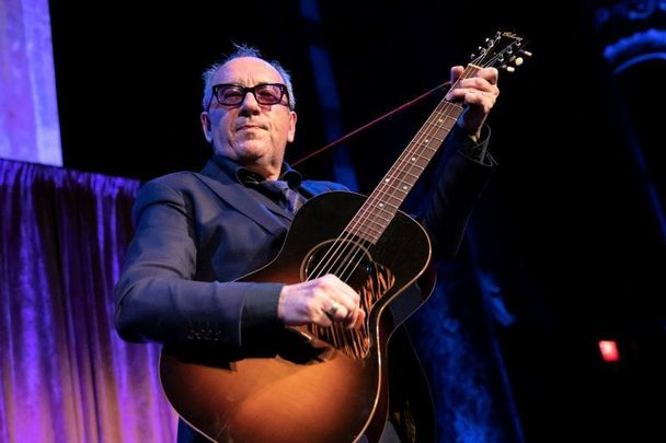 Elvis Costello, pictured here at the 2019 Spirit of Ireland Gala.
