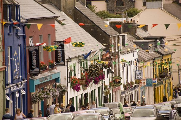 Main Street, in Dingle, County Kerry.