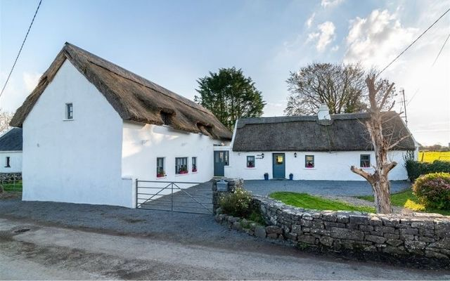 Holly Cottage near Headford, County Galway, dates back to the 1700s.
