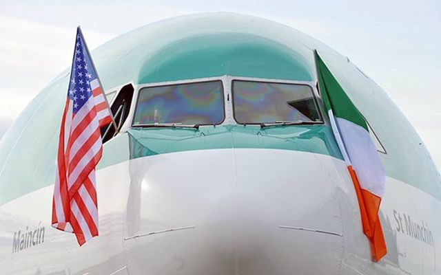 Great news for Aer Lingus\' transatlantic travel between the US and Ireland.