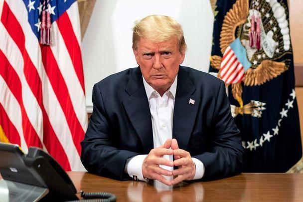 Incumbant President Donald J Trump.