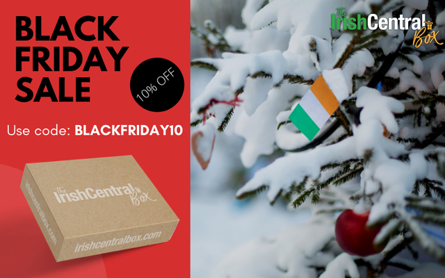 Get 10% off The IrishCentral Box with this special Black Friday discount code.