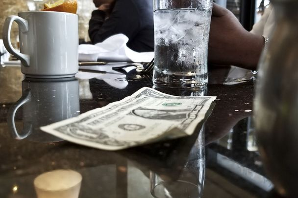 Nighttown, Irish owned restaurant in Ohio: The generous customer left a tip of $3k on a $7 bill.