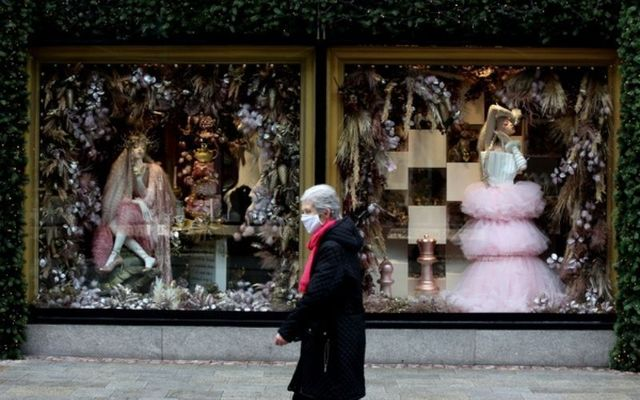 Non-essential retailers prepare to reopen in Dublin City.