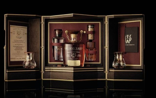 Devil\'s Keep was launched on Monday at €10,000 a bottle.