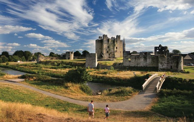 Trim Castle, County Meath: Tourism Ireland wants to help you bring a bit of Ireland to your home in Canada.