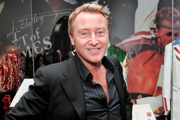 Irish dance superstar Michael Flatley.