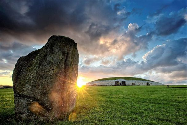 Newgrange in Co Meath is the site of a spectacular Winter Solstice phenomenon every year.