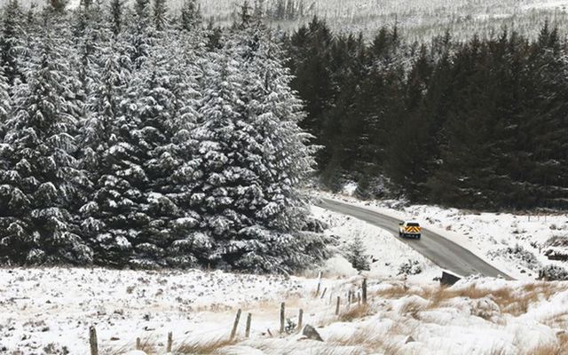 Severe wintry weather forecast for Ireland this weekend.