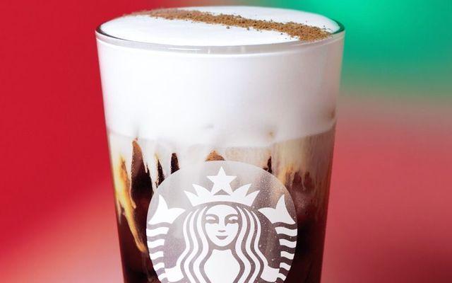 Starbucks\' delicious Irish Cream Cold Brew.