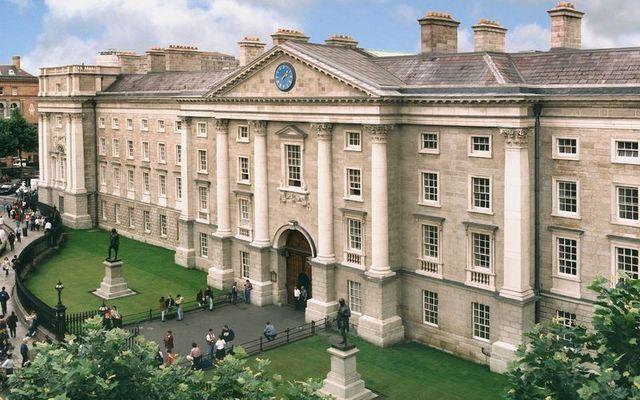 Trinity College Dublin, in the city center.