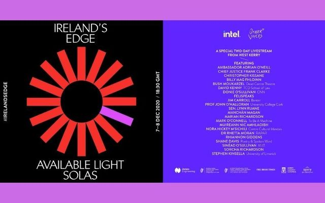 Ireland\'s Edge presents \'Available Light / Solas\' live music and discussion December 7 - 8.