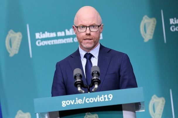 Ireland\'s Minister for Health Stephen Donnelly.