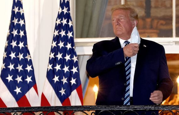 Donald Trump has claimed that the United States is turning the corner in the fight against COVID-19.