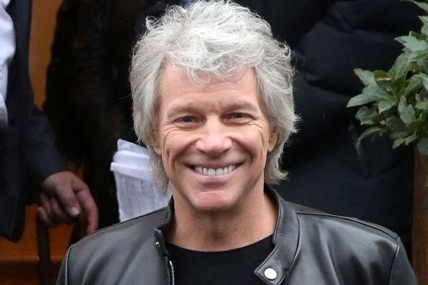 Jon Bon Jovi pictured here in February 2020.