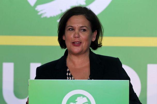 October 9, 2020: Sinn Féin President Mary Lou McDonald at the launch of their Alternative Budget 2021.
