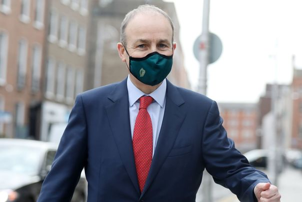 Taoiseach Micheál Martin believes that there will be a larger supply of the vaccine available from March onward.