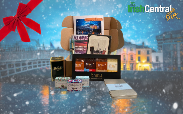 The Irish Central Box, a perfect Christmas gift.