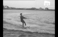 WATCH: Waterskiing in the freezing Irish Sea on Christmas Day, 1961