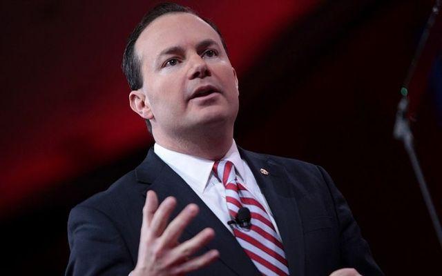 Utah Senator Mike Lee.