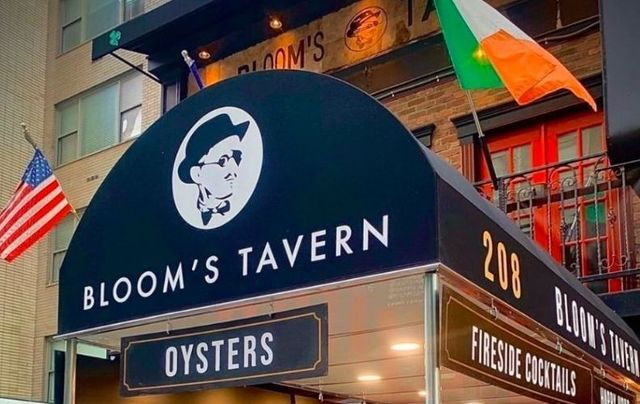 Bloom's Tavern on East 58th Street in New York City.
