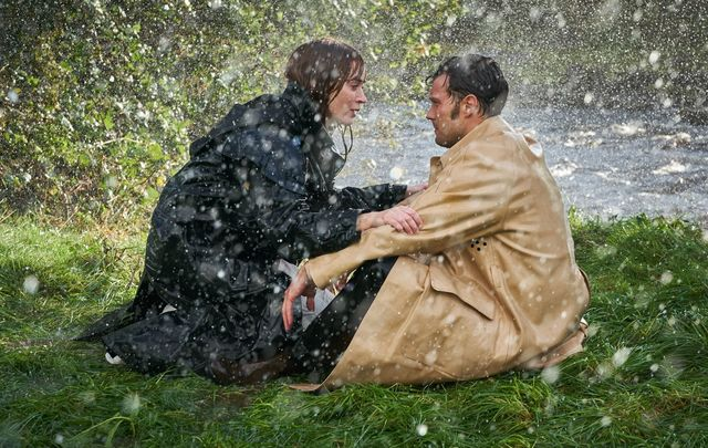 """Emily Blunt and Jamie Dornan in \""""Wild Mountain Thyme.\"""""""