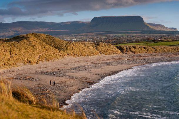 Streedagh Beach, in County Sligo.