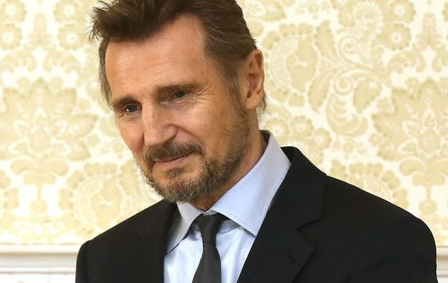 Irish actor Liam Neeson, pictured here in April 2017.