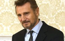 """Nurses """"starstruck"""" after receiving surprise delivery from Liam Neeson"""