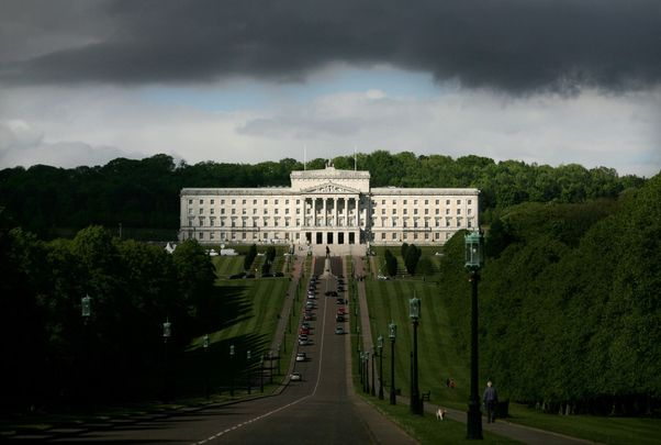 Stormont, the seat of the Northern Ireland Assembly.